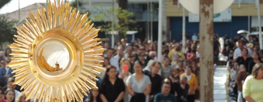 Corpus Christi: Demonstração de amor, fé e gratidão à Jesus Cristo