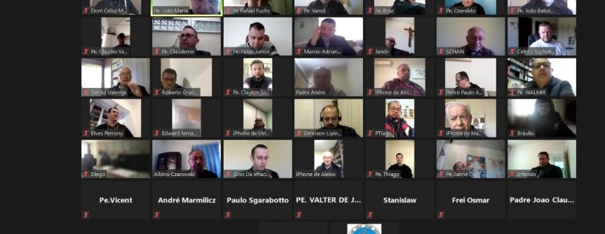 Reunião dos presbíteros acontece de forma virtual