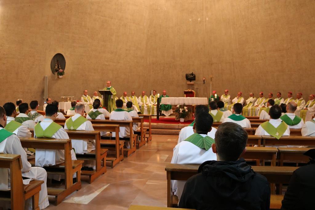 Missa no Colégio Pio Brasileiro marca o início da Visita Ad Limina dos bispos do Paraná